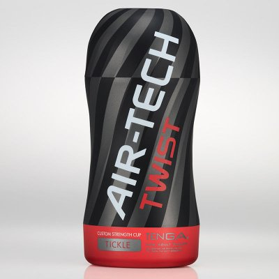 Masturbador texturizado Tenga Air-Tech Twist Red Tickle
