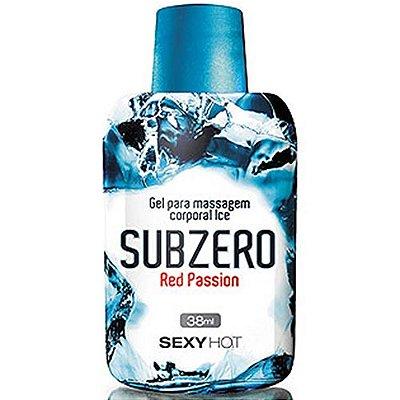 Gel para Massagem SubZero - Red Passion  38ml