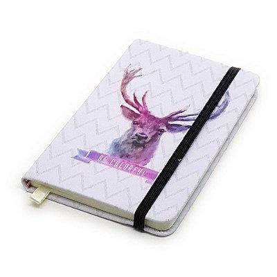 Caderneta de Anotação Be Colorful - veado