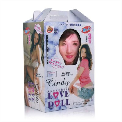 Boneca Inflável Authentic Love Doll Cindy