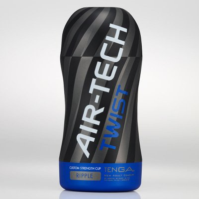 Masturbador texturizado Tenga Air-Tech Twist Blue Ripple