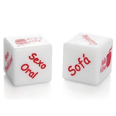 Dados Cubos do Amor Hot