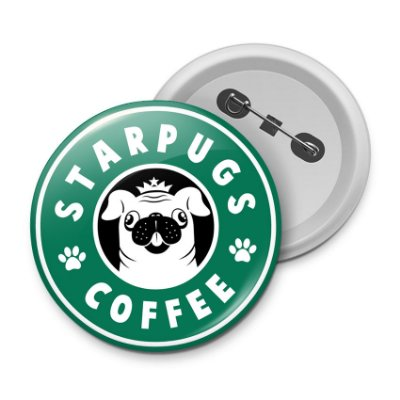 Botton StarPugs Coffee