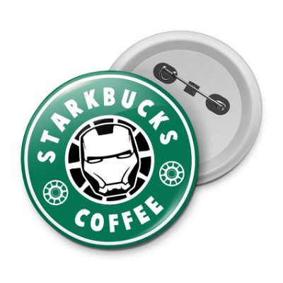 Botton StarkBucks Coffee