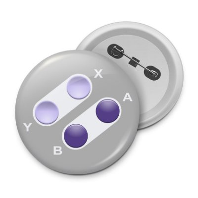 Botton Joystick 16-bits