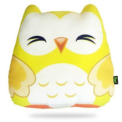 Almofada Coruja - amarela