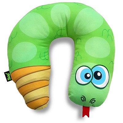 Almofada de Pescoço Cobrinha Cascavel - verde
