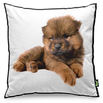 Almofada Love Dogs Black Edition - Chow Chow