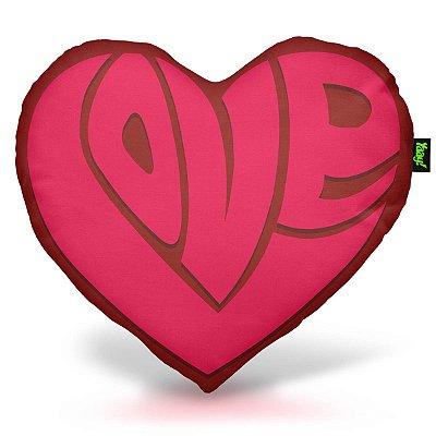 Almofada Coração Love