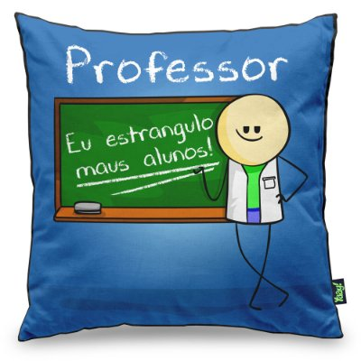 Almofada DrPepper Profissões - Professor