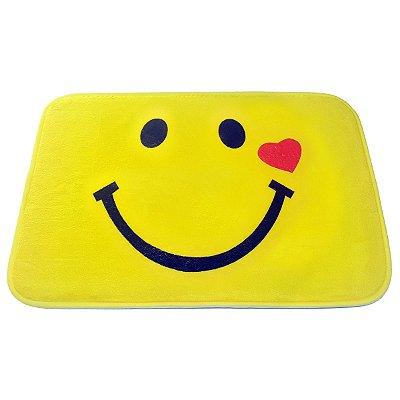 Tapete Emoticon - Emoji Sorriso Coração