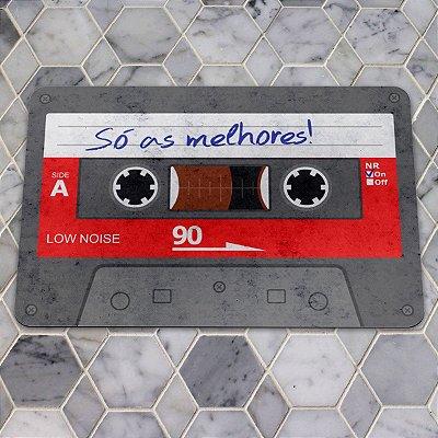 Capacho Eco Slim 3mm Fita Cassette K7