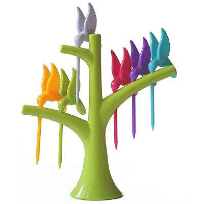Espetos para Petiscos Humming Bird - Beija Flor