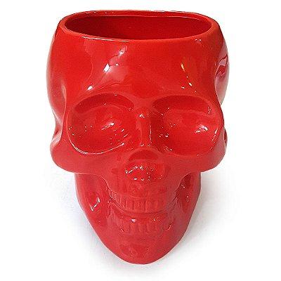 Pote Caveira Crânio Skull sem tampa