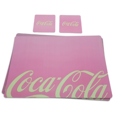 Jogo Americano Coca-Cola Contemporary - 4 peças