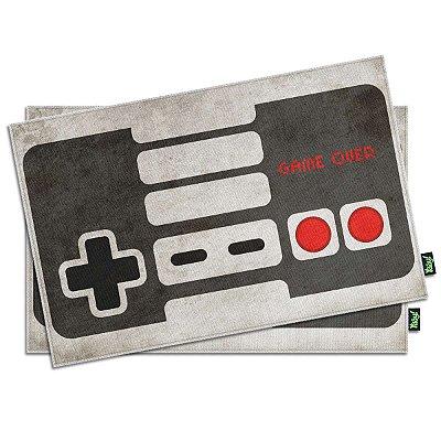 Jogo Americano Gamer Joystick Retrô - 2 peças