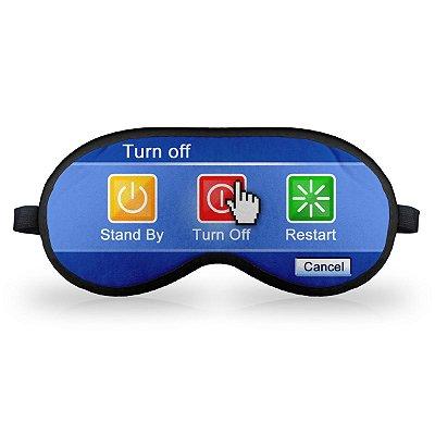 Máscara de Dormir em neoprene - Turn Off Button