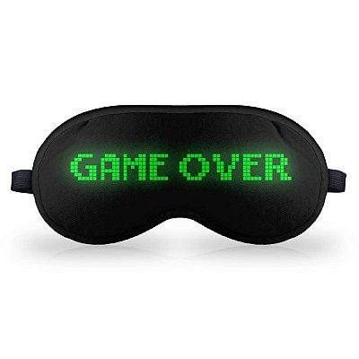 Máscara de Dormir em neoprene - Game Over