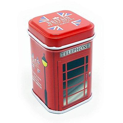 Latinha Reino Unido - Cabine Telefônica