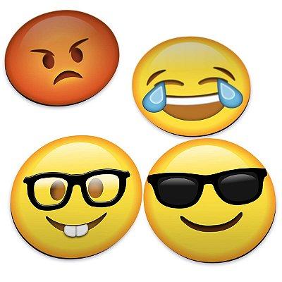 Porta Copos Emoticons - Emojis v2