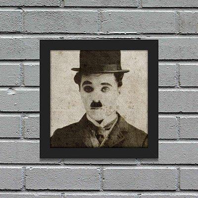 Quadro Retrô Charlie Chaplin