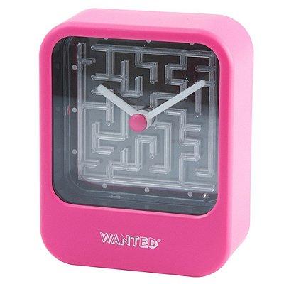 Relógio com jogo Labirinto