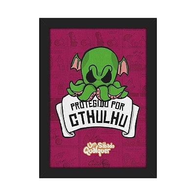 Quadro USQ Protegido por Cthulhu