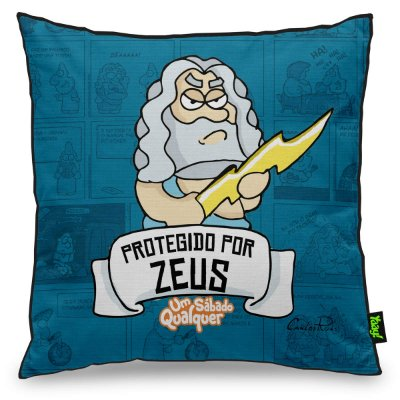 Almofada USQ Protegido por Zeus