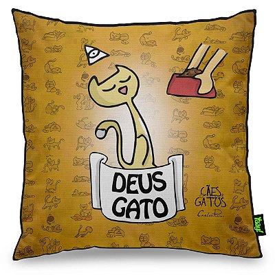 Almofada USQ Cães e Gatos Deus Gato