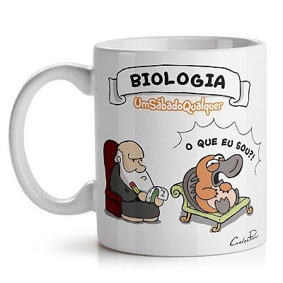Caneca USQ Profissões Biologia 2