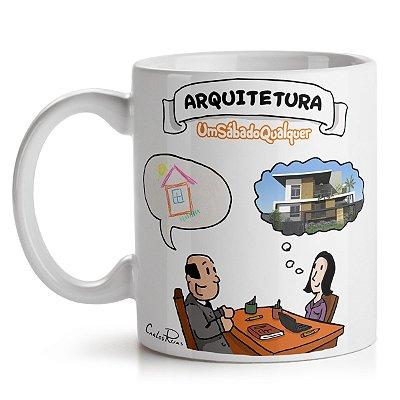 Caneca USQ Profissões Arquitetura