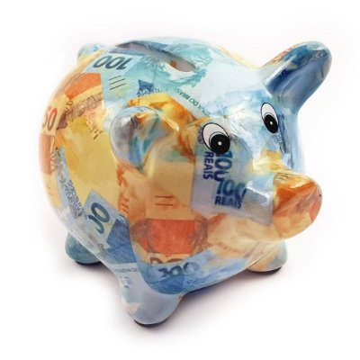 Cofre Porquinho de Dinheiro
