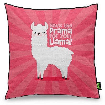 Almofada Save The Drama For Your Llama