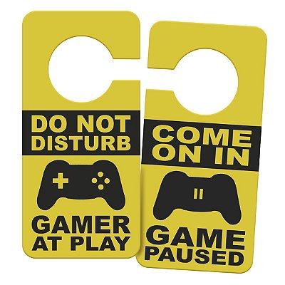Aviso de Porta Gamer at Play