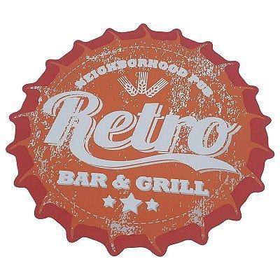 Jogo Americano tampa de garrafa Retro Bar & Grill