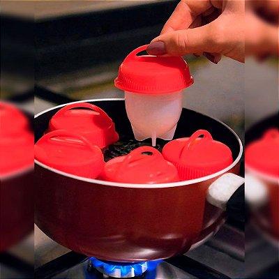 Silicone Egg Boil Ovos Cozidos Fácil - 6 unidades