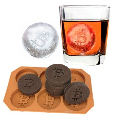 Forma de Gelo Geek Bitcoins