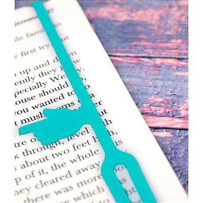 Marcador de Páginas com indicador de parágrafo - verde
