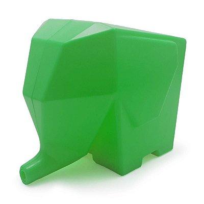 Porta Talheres Escorredor Elefante - verde