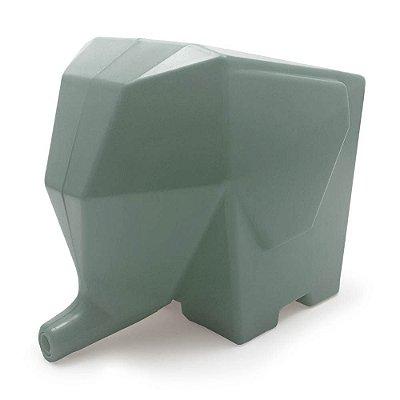Porta Talheres Escorredor Elefante - cinza