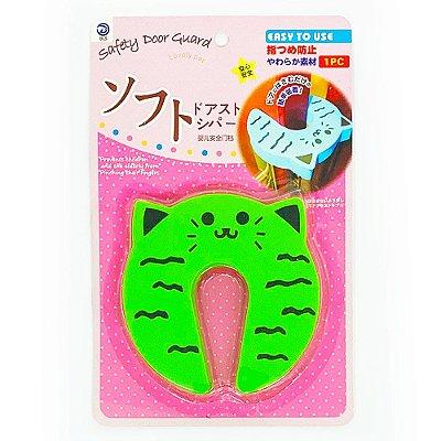 Protetor de Dedos Para Porta Gatinho - verde