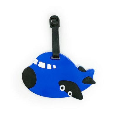 Tag de Mala para viagem Avião - azul