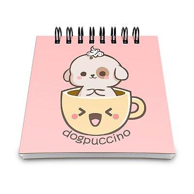 Bloco de Anotações Dogpuccino