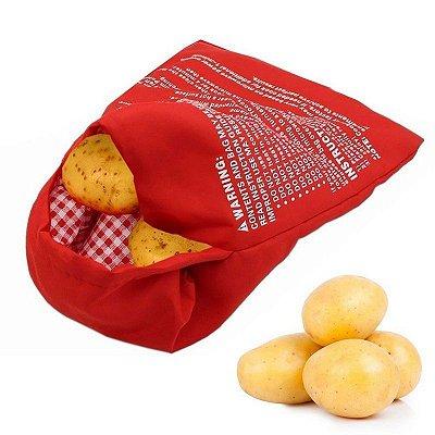 Saco para cozinhar batata no microondas