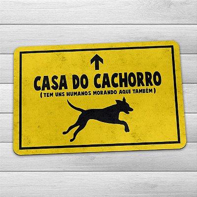 Capacho Ecológico Casa do Cachorro