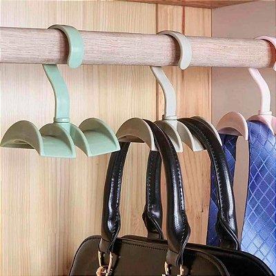 Cabide de guarda-roupa para Bolsas Cintos Bonés cor sortida