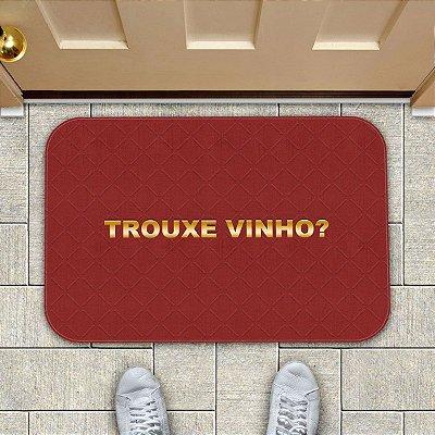 Tapete Decorativo Trouxe Vinho