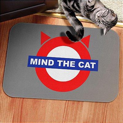 Tapete Decorativo Mind The Cat metrô de Londres