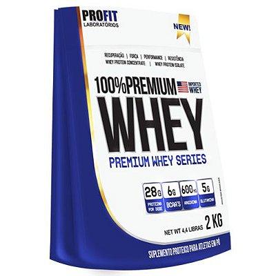 100% Premium Whey 2kg - Profit