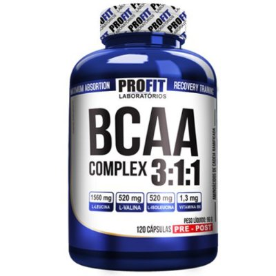 BCAA Complex 120caps - Profit